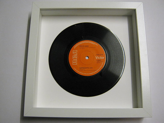 "David Bowie - ""Suffragette City"" Framed Record"
