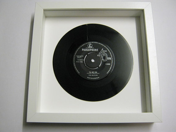 "The Beatles - ""I'll Get You"" Framed Record"