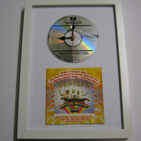 "The Beatles - ""Magical Mystery Tour"" Framed CD Wall Clock"