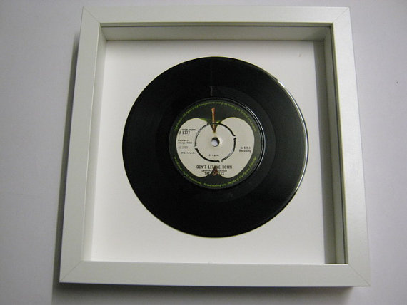 "The Beatles - ""Don't Let Me Down"" Framed Record"