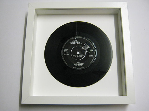"The Beatles - ""Help!"" Framed Record"