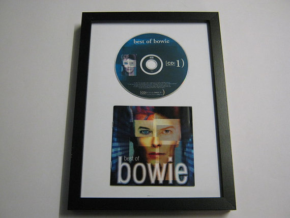 "David Bowie - ""The Best Of"" Framed CD"