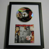 "David Bowie - ""ChangesBowie"" Framed CD Wall Clock"