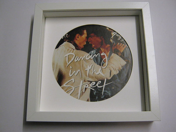 "David Bowie - ""Dancing In The Street"" Framed Record Sleeve"