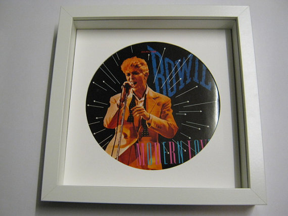 "David Bowie - ""Modern Love"" Framed Record Sleeve"