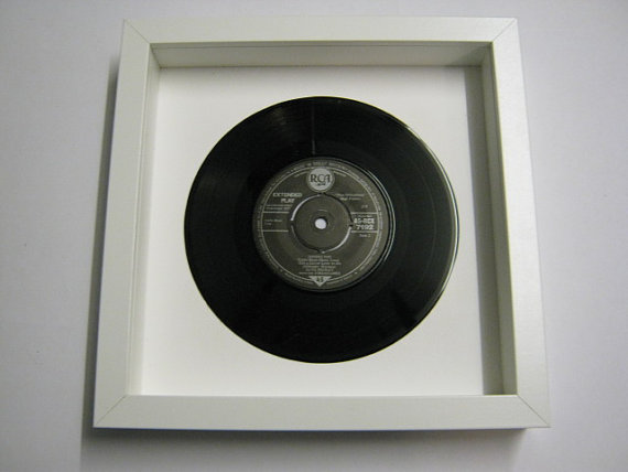 "Elvis Presely - ""Let Me Be Your Teddy Bear"" Framed Record"