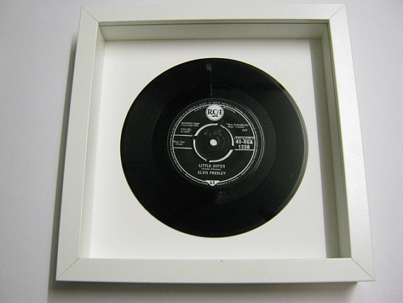 "Elvis Presely - ""Little Sister"" Framed Record"
