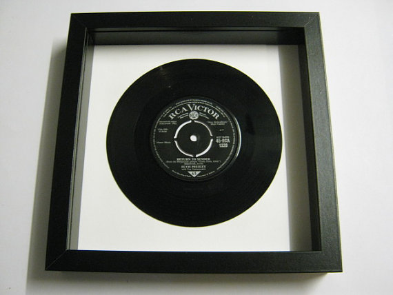 "Elvis Presely - ""Return To Sender"" Framed Record"