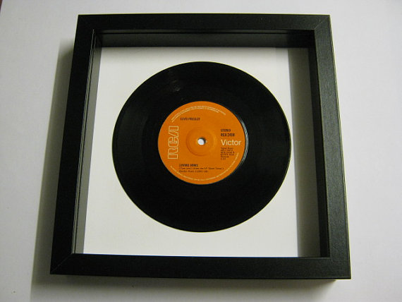 "Elvis Presely - ""Loving Arms"" Framed Record"