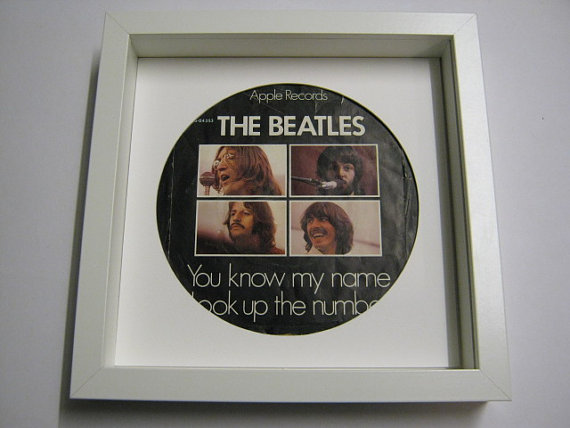 "The Beatles - ""You Know My Name"" Framed Record Sleeve"