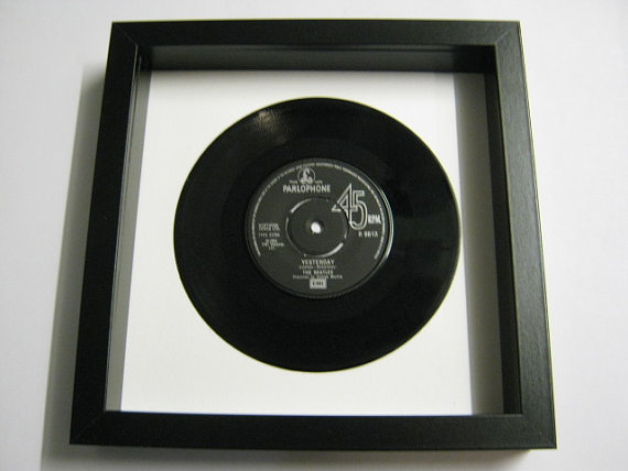 "The Beatles - ""Yesterday"" Framed Record"