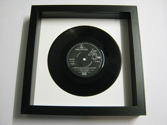 "The Beatles - ""I Should Have Known Better"" Framed Record"