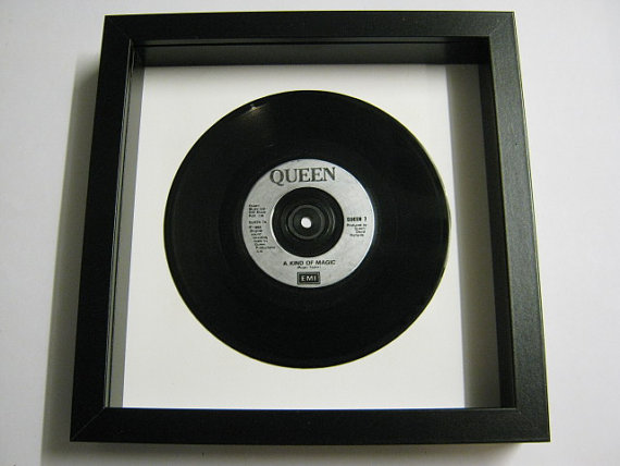 "Queen - ""It's A Kind Of Magic"" Framed Record"