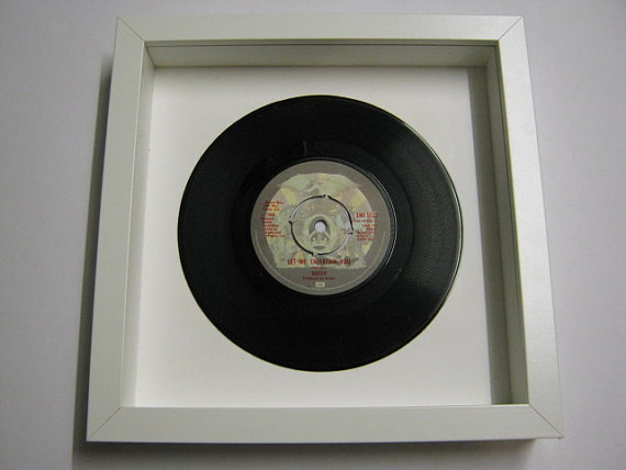 "Queen - ""Let Me Entertain You"" Framed Record"