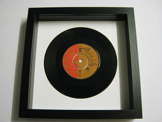 "Queen - ""Seven Seas Of Rhye"" Framed Record"