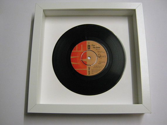 "Queen - ""Play The Game"" Framed Record"