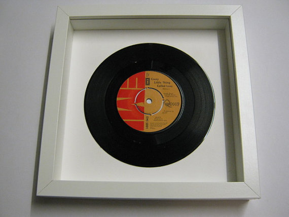 "Queen - ""Crazy Little Thing Called Love"" Framed Record"