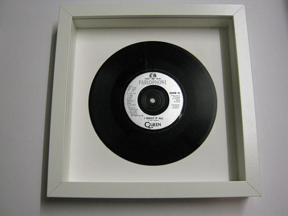 "Queen - ""I Want It All"" Framed Record"