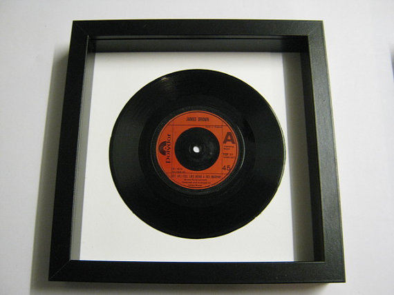 "James Brown - ""Get Up I Feel Like Being A Sex Machine"" Framed Record"