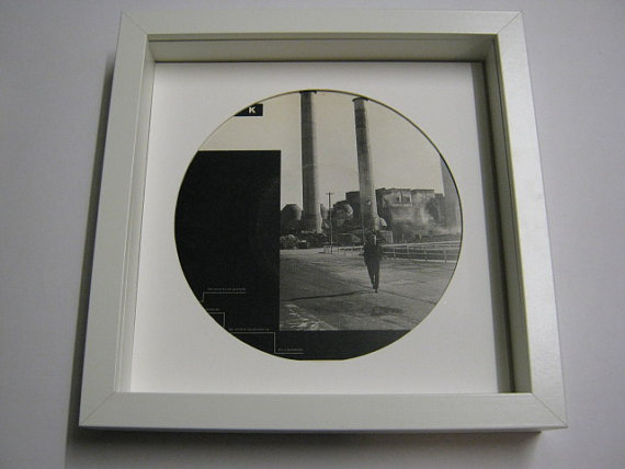"Black - ""Wonderful Life"" Framed Record Sleeve"