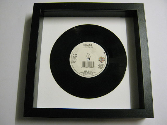 "The Bee Gees - ""Crazy For Your Love"" Framed Record"