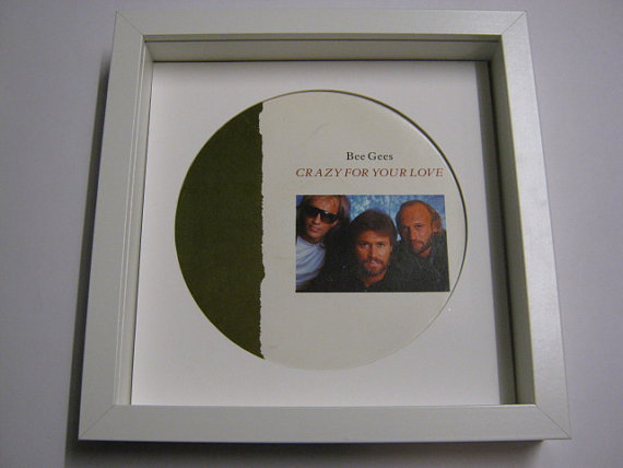 "The Bee Gees - ""Crazy For Your Love"" Framed Record Sleeve"
