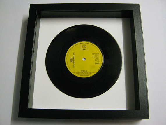 "ABBA - ""Waterloo"" Framed Record"