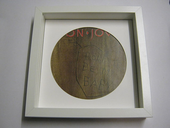 "Bon Jovi - ""Born To Be My Baby"" Framed Record Sleeve"