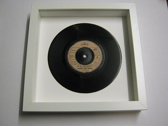 "Bachman-Turner Overdrive - ""You Ain't Seen Nothing Yet"" Framed Record"