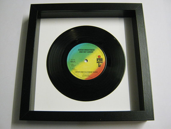 "Sarah Brightman - ""I Lost My Heart To A Starship Trooper"" Framed Record"