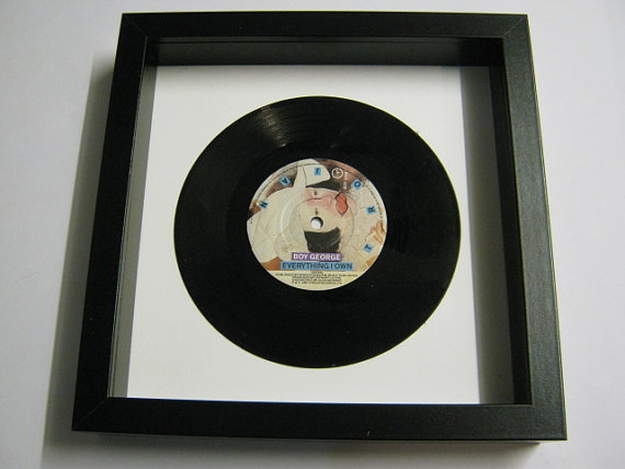 "Boy George - ""Everything I Own"" Framed Record"