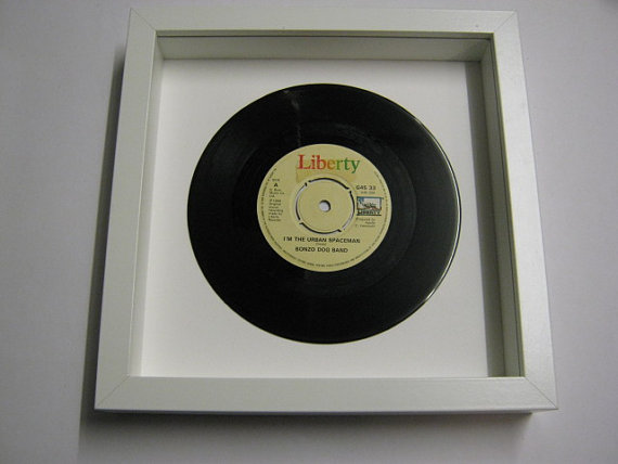 "Bonzo Dog Band - ""I'm The Urban Spaceman"" Framed Record"