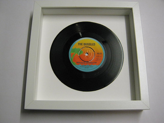 "The Buggles - ""Video Killed The Radio Star"" Framed Record"