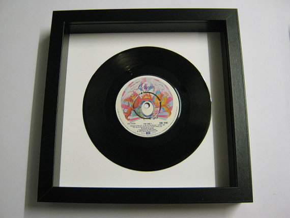 "Queen - ""You And I"" Framed Record"