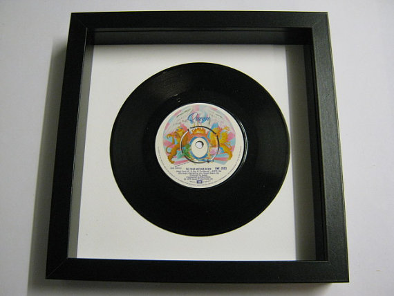 "Queen - ""Tie Your Mother Down"" Framed Record"
