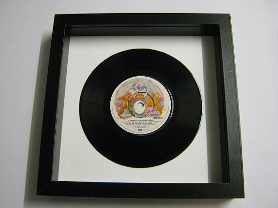 "Queen - ""Good Old Fashioned Lover Boy"" Framed Record"