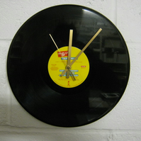 "The B-52's - ""Party Mix"" Record Wall Clock"