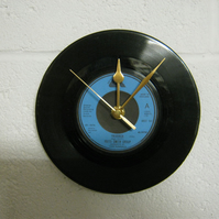 "Patti Smith Group - ""Frederick"" 7"" Vinyl Record Wall Clock"