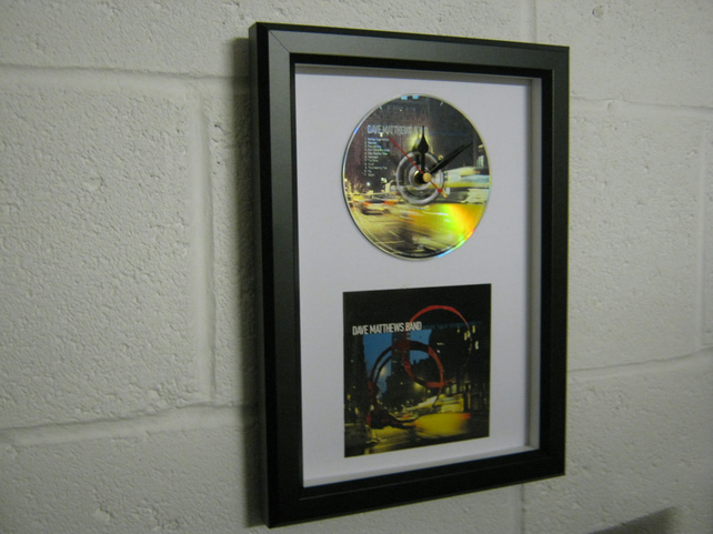 "Dave Matthews Band - ""Before These Crowded Streets"" Framed CD Clock"