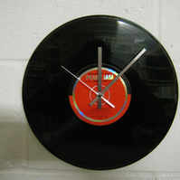 "Pearl Jam -  ""Wishlist"" 12"" CD & Vinyl Record Wall Clock"