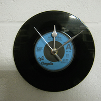 "Stiff Little Fingers - ""Tin Soldiers"" 7"" Vinyl Record Wall Clock"