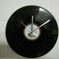 "Bob Marley ""Sun Is Shining"" 12"" Vinyl Record Wall Clock"