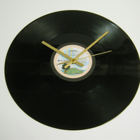 "Bob Marley ""Jamming"" 12"" Vinyl Record Wall Clock"