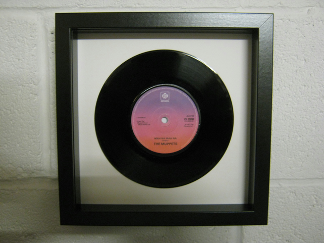 "The Muppets - ""Mah-Na Mah-Na"" Wall Framed 7"" Record"