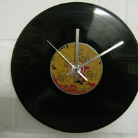 "Panic At The Disco - ""A Fever You Can't Sweat "" 12"" CD & Vinyl Record Wall Clock"