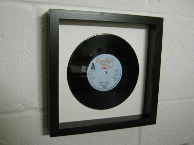 "The Sugarhill Gang - ""Rapper's Delight"" Wall Framed 7"" Record"