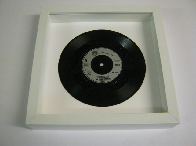 "The Housemartins - ""Caravan Of Love"" Wall Framed 7"" Record"