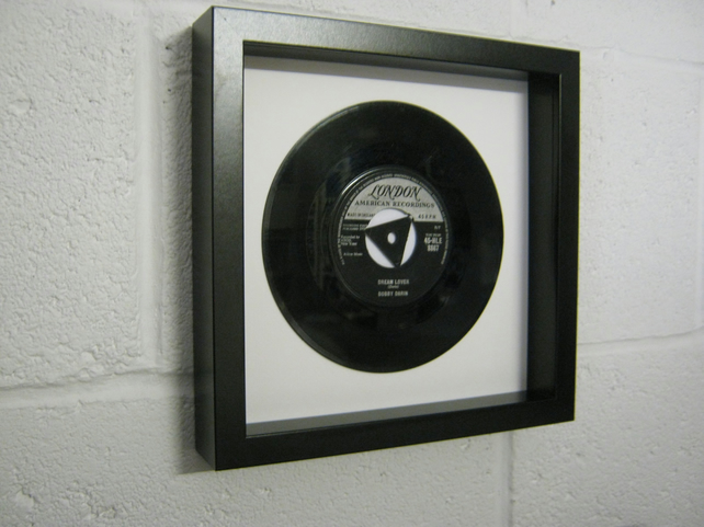 "Bobby Darin - ""Dream Lover"" Wall Framed 7"" Record"