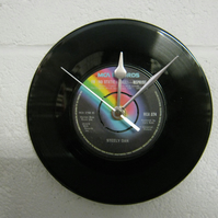 "Steely Dan - ""FM (No Static At All)"" 7"" Vinyl Record Wall Clock"