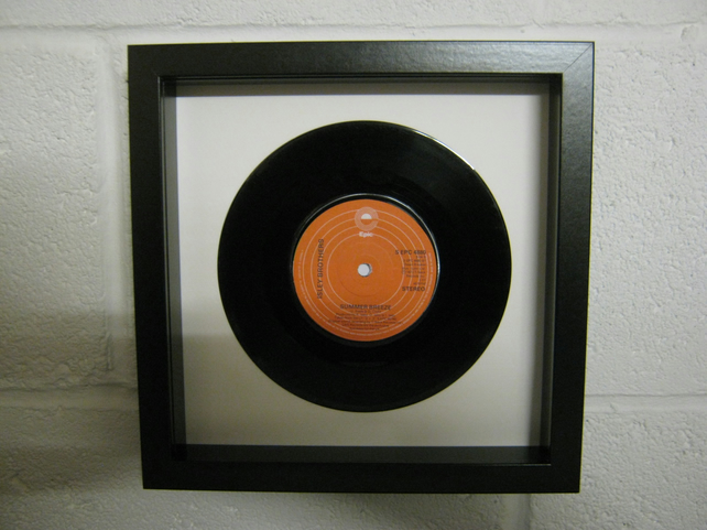 "The Isley Brothers - ""Summer Breeze"" Wall Framed 7"" Record"